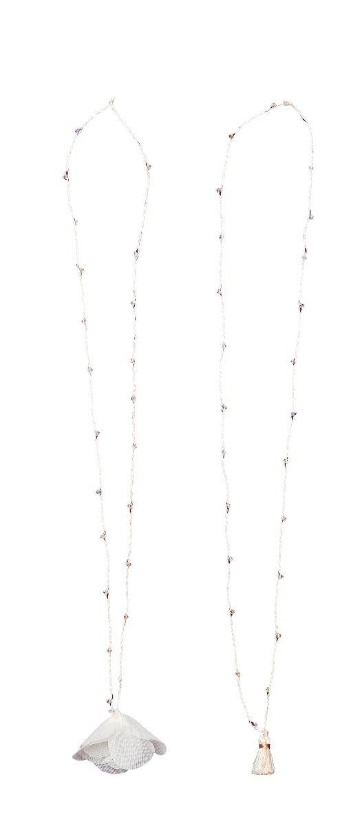 Leny Tomy Factory Tassel Necklace With Swarovski Crystals c8iWjSlJ