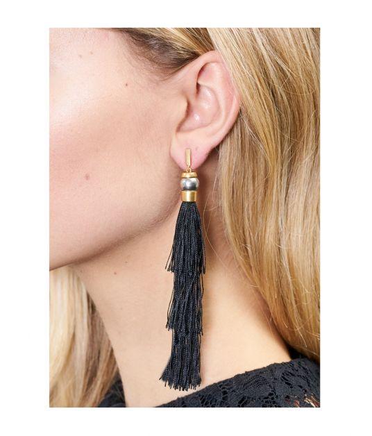 7030a17e2 Gloria Silk Tassel Earrings by Rachel Zoe at ORCHARD MILE