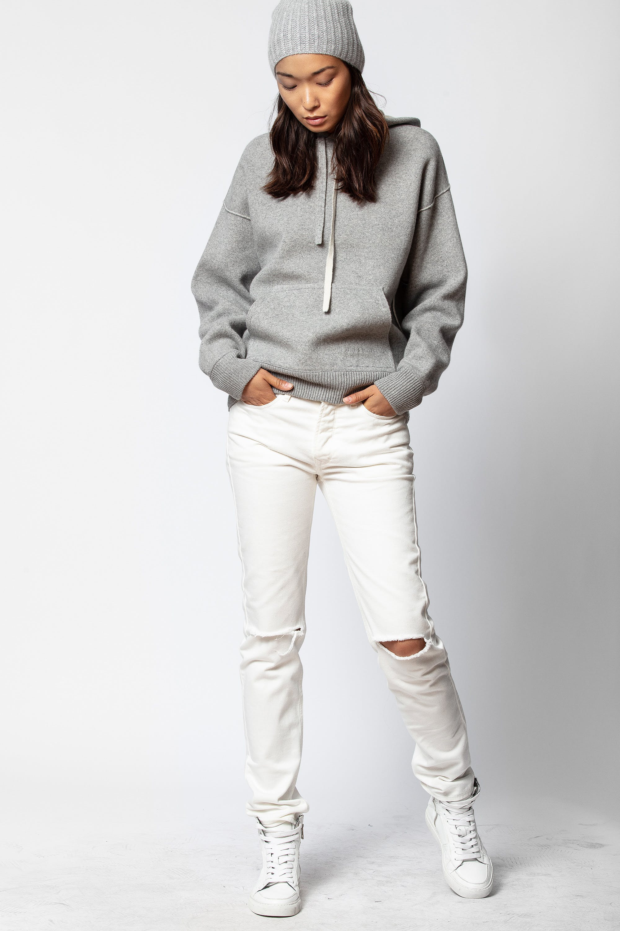 Susanna Cashmere Sweater by Zadig & Voltaire
