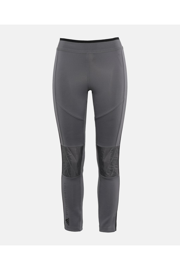 701589c1391 Gray Training Tights by adidas by Stella McCartney at ORCHARD MILE