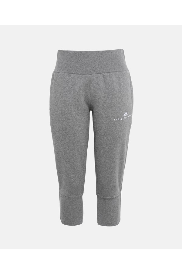88ad452dc67 Gray Essentials 3/4 Sweatpants by adidas by Stella McCartney at...