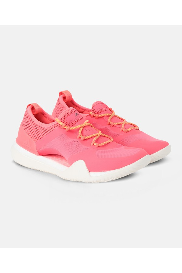 125cfffe488 Red Pureboost X Sneakers by adidas by Stella McCartney at ORCHARD MILE