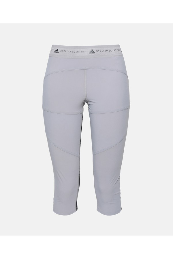 4e7abdc7b53 Gray Running 3/4 Tights by adidas by Stella McCartney at ORCHARD MILE