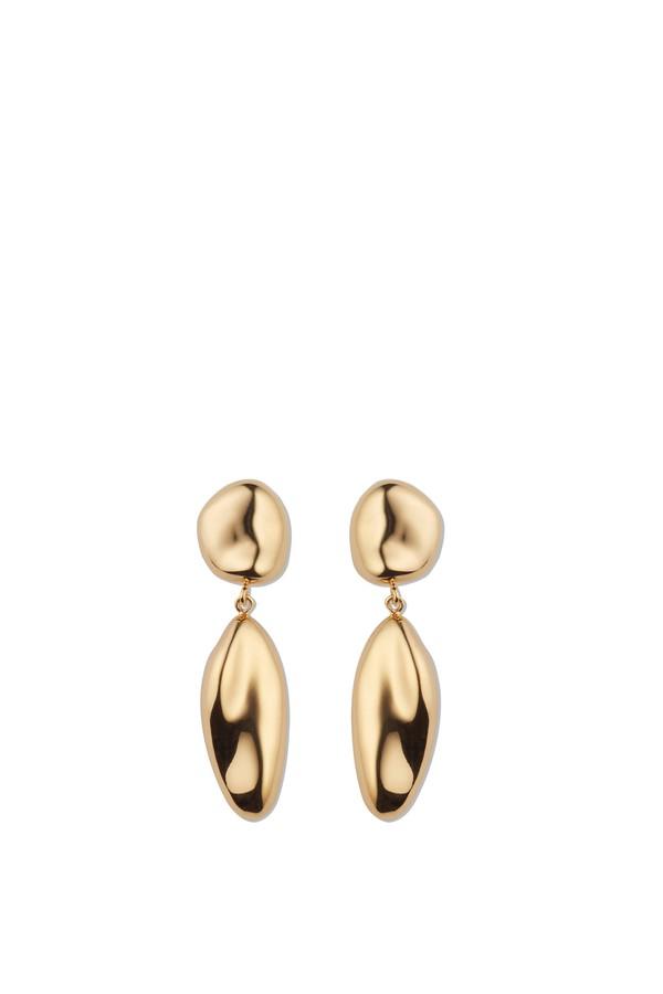 Agmes Short Gold Patrice Earrings 9wv75wEyVC