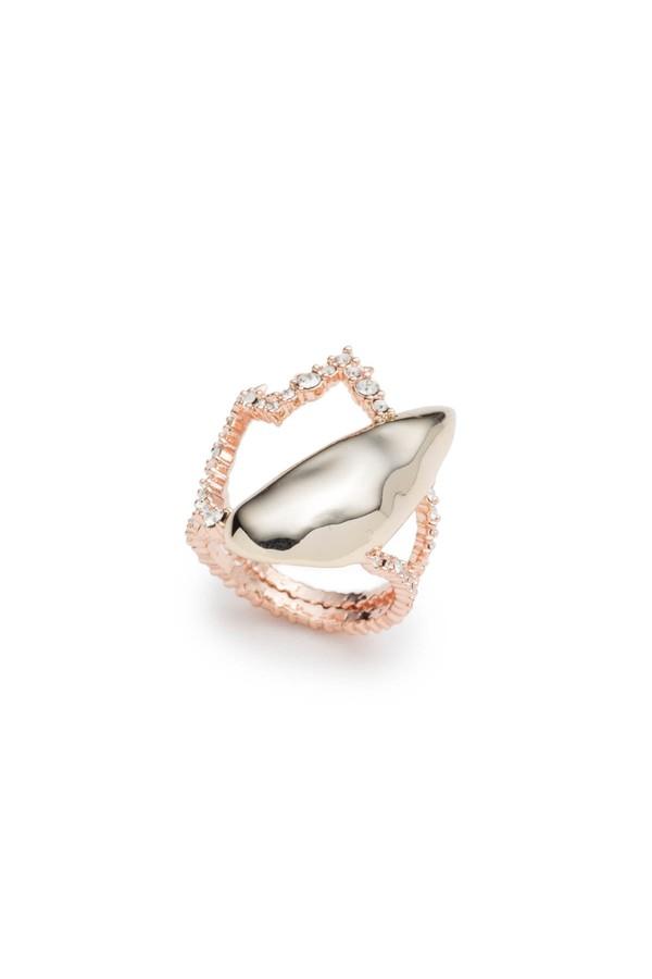 Alexis Bittar Roxbury Crystal Encrusted Stone Ring VUvQxcHo8