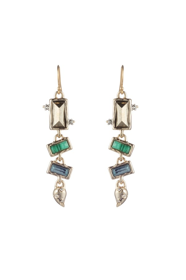 ea93ceac9 Molten Metal Multi-Stone Wire Earring by Alexis Bittar at ORCHARD MILE