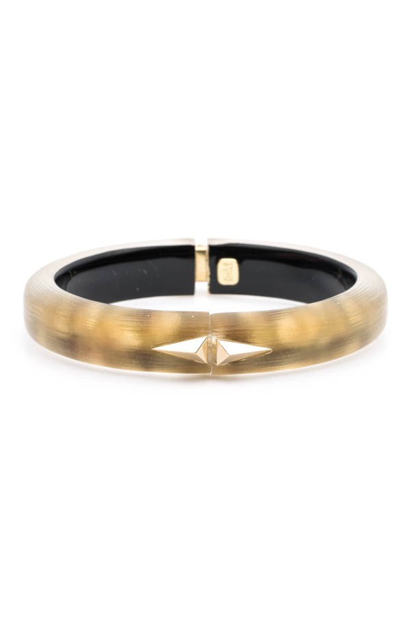 894fcc250 Pyramid Studded Hinge Bracelet by Alexis Bittar at ORCHARD MILE
