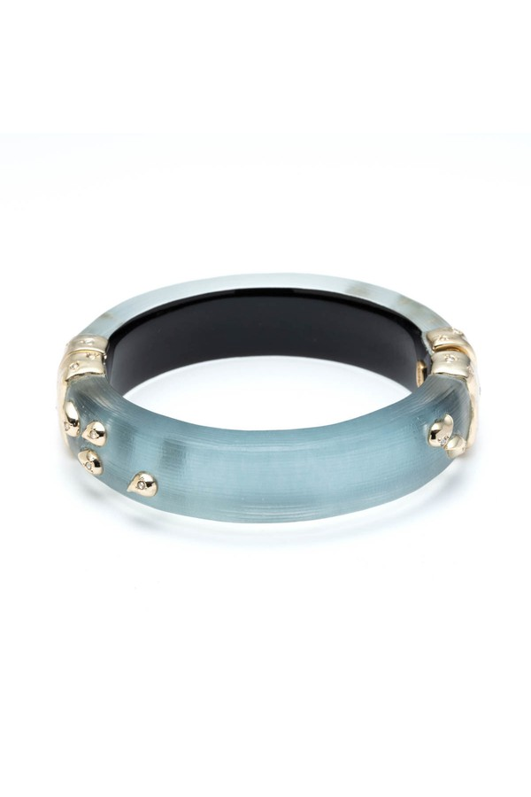 e23df5087 Paisley Studded Hinge Bracelet by Alexis Bittar at ORCHARD MILE