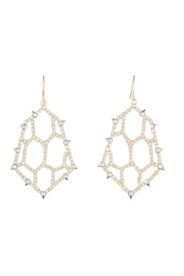 79e1d6dcf Honeycomb Drop Earrings by Alexis Bittar at ORCHARD MILE