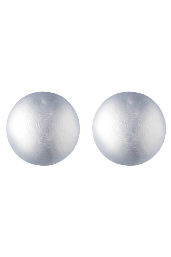 Alexis Bittar Watery Sphere Button Post Earring Clear 6bH4BJ