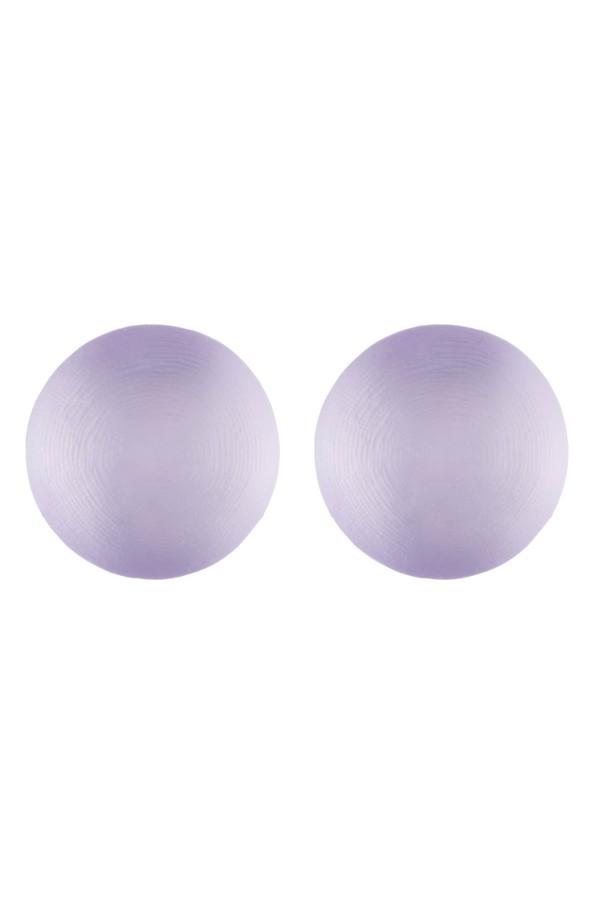 Alexis Bittar Medium Dome Clip Earring Lilac WkrMSje1