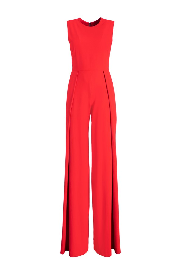 3f775169831 Bret Pleated Wide Leg Jumpsuit by Alice + Olivia at ORCHARD MILE