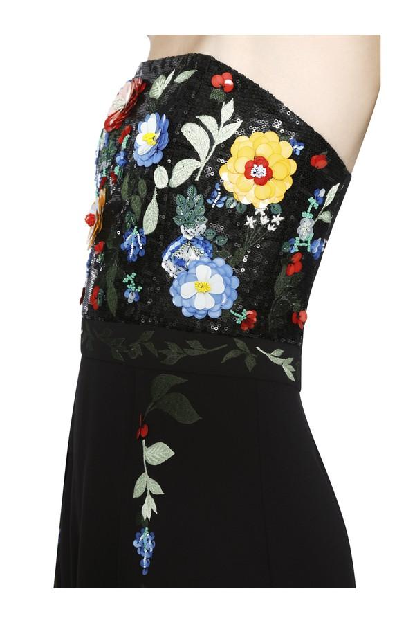4ed2c9662d8 Jeri Embellished Tulip Hem Jumpsuit by Alice + Olivia at ORCHARD MILE