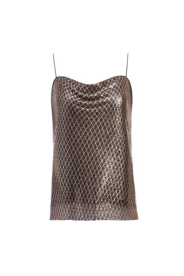 130bab7ae675 Harmon Chainmail Slip Tank by Alice + Olivia at ORCHARD MILE