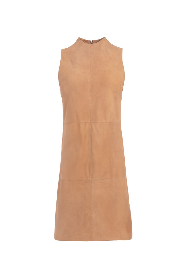506f01506c0c Coley Suede Mini Dress by Alice + Olivia at ORCHARD MILE