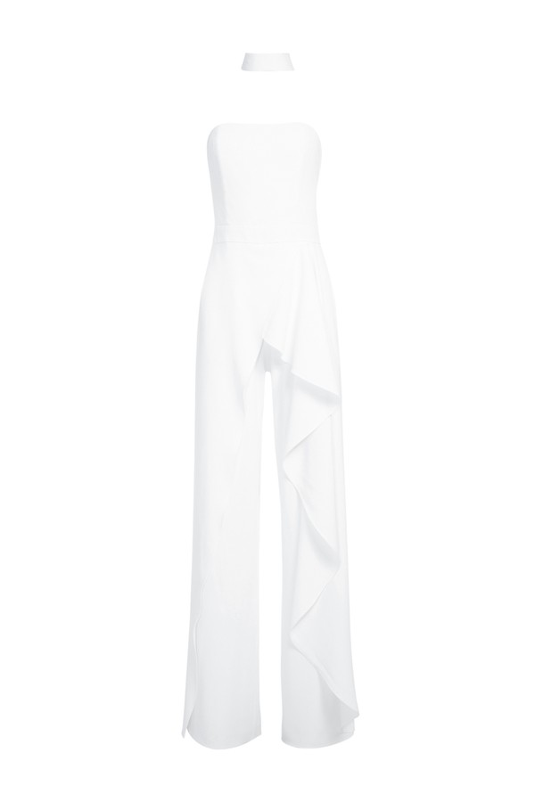ee78a21596f8a Latonya Ruffled Jumpsuit by Alice + Olivia at ORCHARD MILE