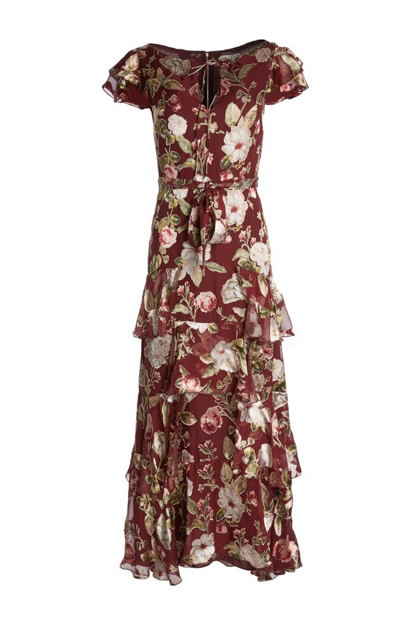 77e667bcfdf2 Jenny Flutter Sleeve Maxi Dress by Alice + Olivia at ORCHARD MILE