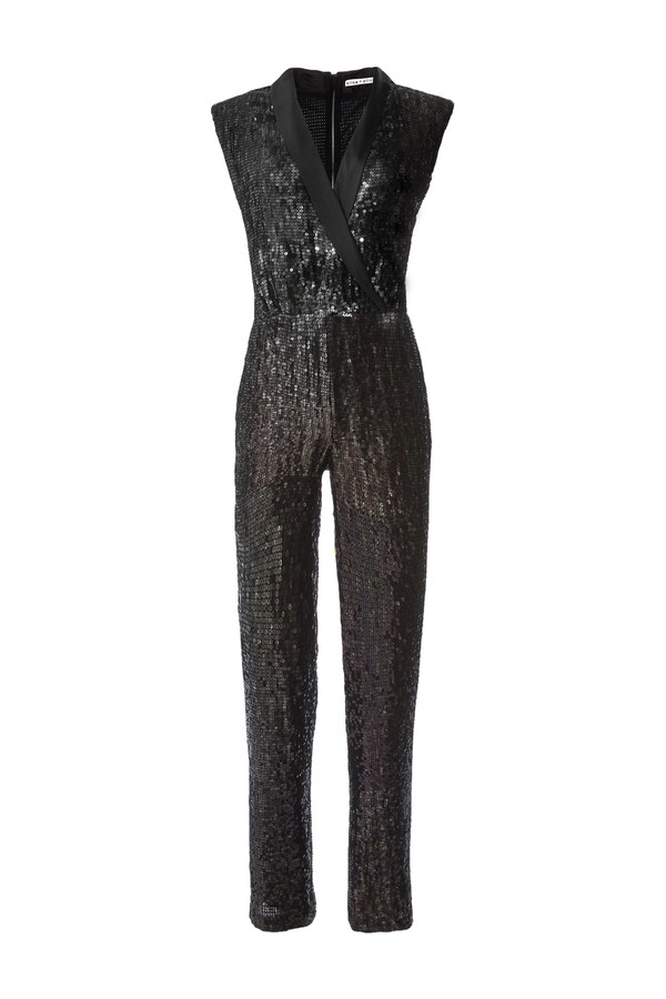 cb471d95cbba Lyle Sequin Jumpsuit by Alice + Olivia at ORCHARD MILE