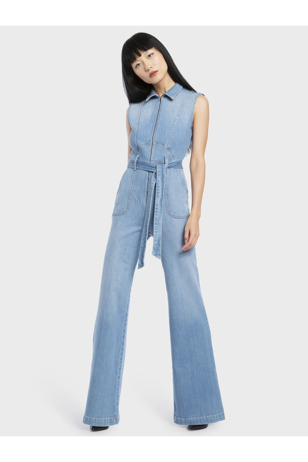 b192e2ffed Sierra Tie Front Jumpsuit by Alice + Olivia at ORCHARD MILE