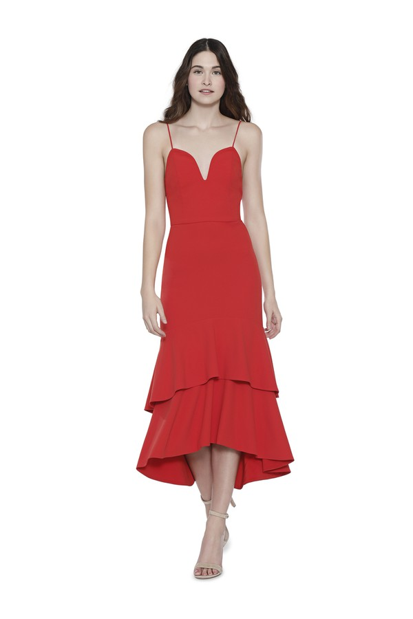 9b1464d436355 Amina Fitted Cocktail Dress by Alice + Olivia at ORCHARD MILE