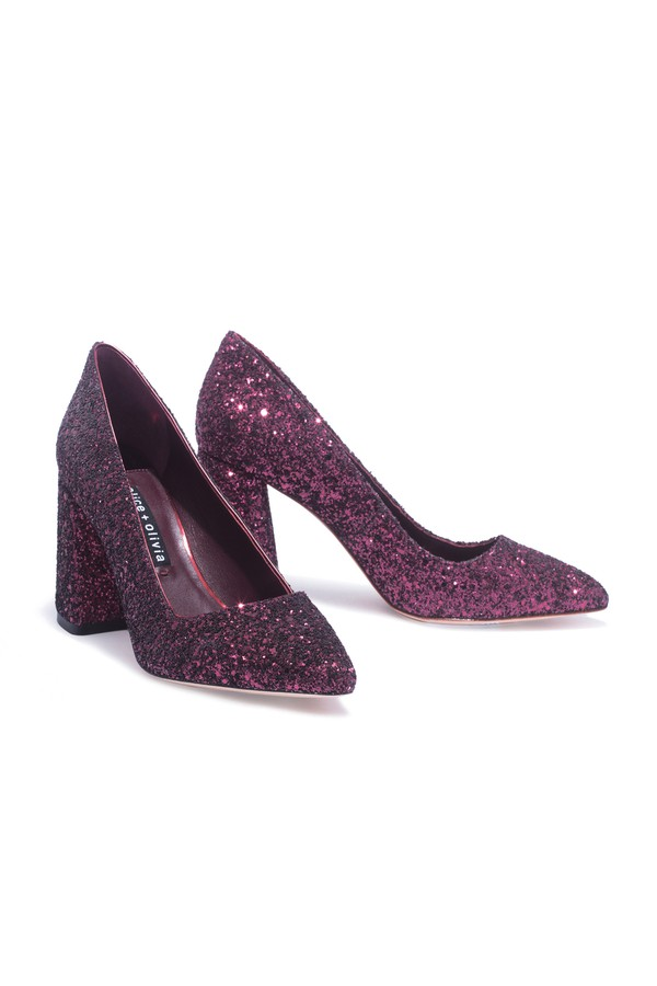b3ee36edf9c Demetra Sequin Pump by Alice + Olivia at ORCHARD MILE