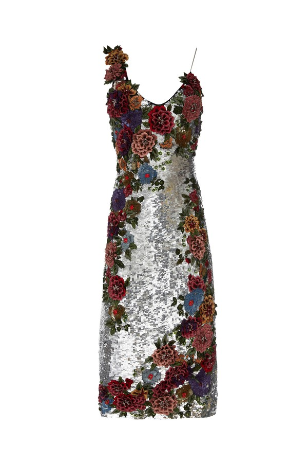 22969434318 Francie Sequin Cocktail Dress by Alice + Olivia at ORCHARD MILE