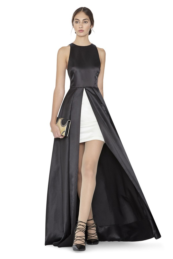 Clarabelle Sleeveless Flare Gown By Alice Olivia At Orchard Mile
