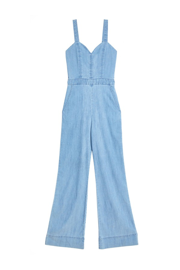 605c43cb40d Cristal Wide Leg Overalls by Alice + Olivia at ORCHARD MILE