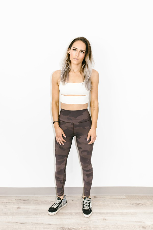 be82f006f50dc High-Waist Vapor Legging In Coco Camouflage by Alo Yoga at ORCHARD...