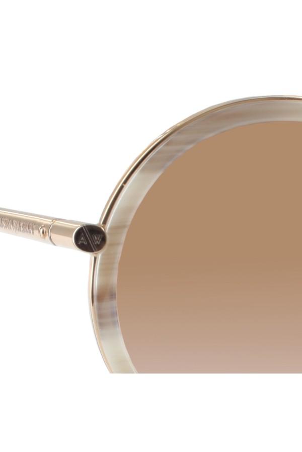 d295e4be6e The Portobello Mineral   Rose Gold Sunglasses by Amanda Wakeley at...