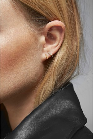 8a21e7a68 Chunky Tubular Hoop Earrings by Rebecca Minkoff at ORCHARD MILE