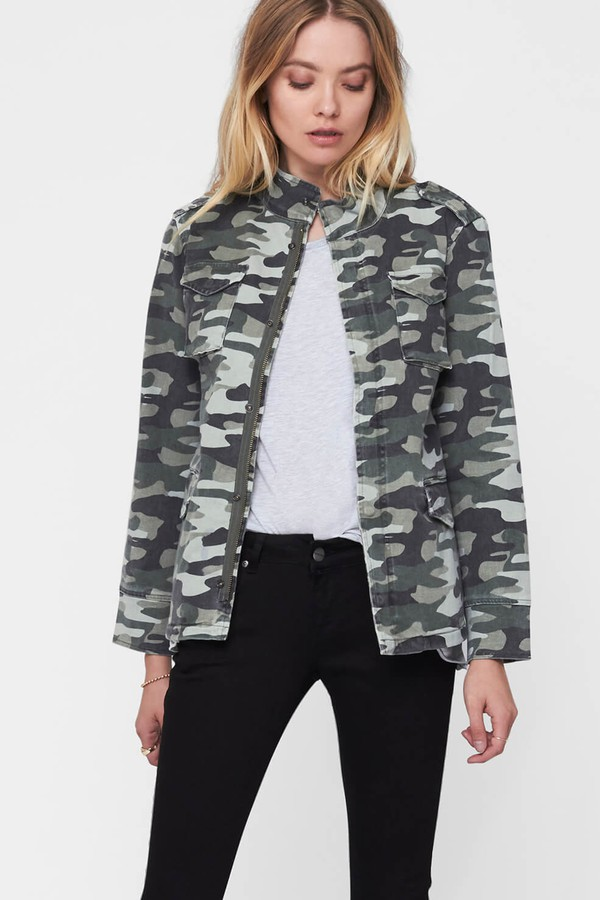 9327c57fdb505 Camouflage Army Jacket by Anine Bing at ORCHARD MILE