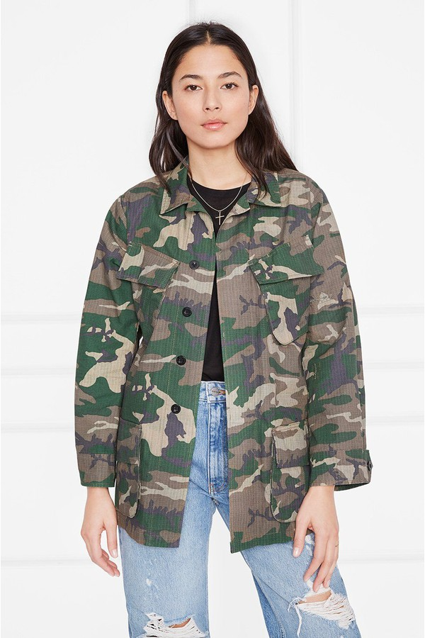 4155e5b6fe3ec Leandra Military Jacket by Anine Bing at ORCHARD MILE