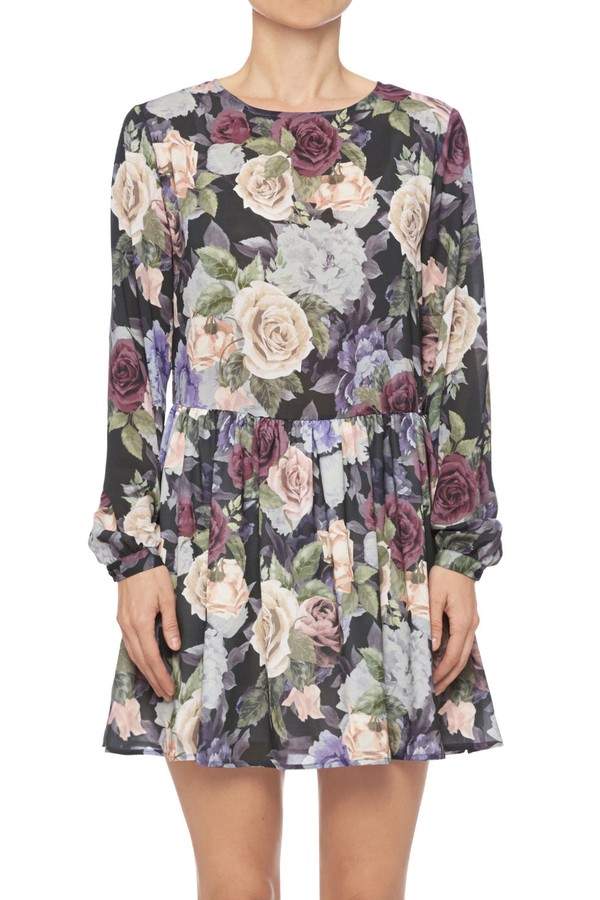 497191fef1f Long Sleeve Floral Dress by Anine Bing at ORCHARD MILE