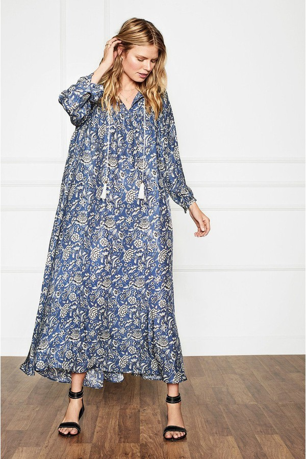d92e311a7 Bohemian Blue Tunic Dress by Anine Bing at ORCHARD MILE