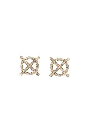 Asha by Ashley McCormick Diamond Clover Bar xYd78