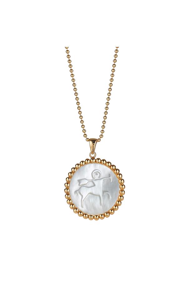 Asha by Ashley McCormick Gold 30 Beaded Chain kpRzQak