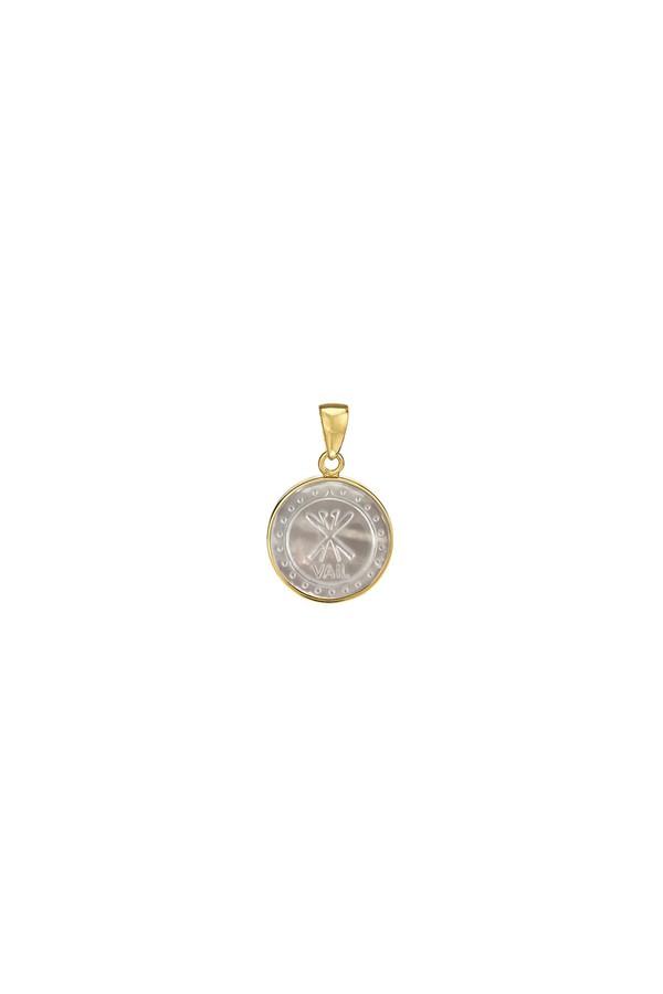 Asha by Ashley McCormick Initial Charm Silver 8pj9E