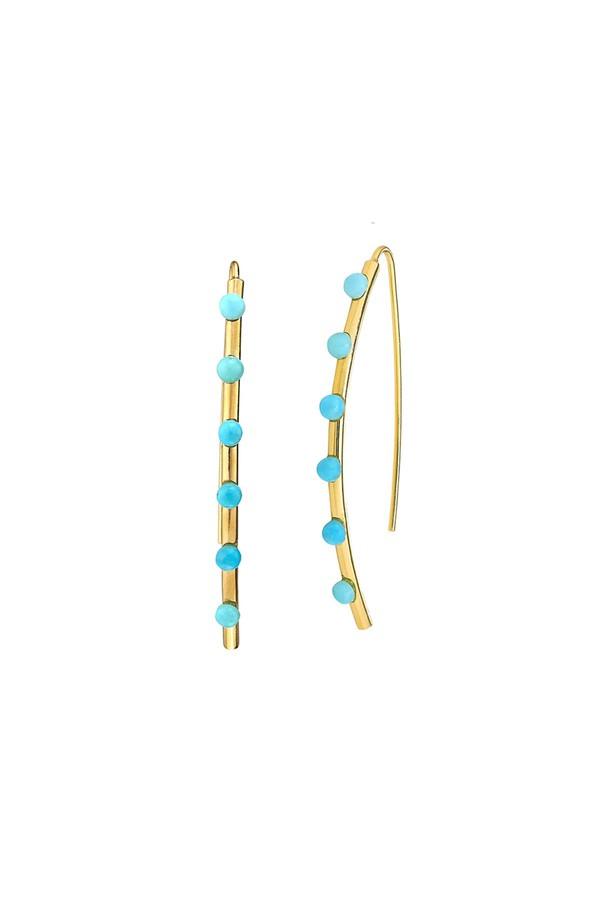 Asha by Ashley McCormick Diamond Emilia Earrings Silver MaWuoxqi