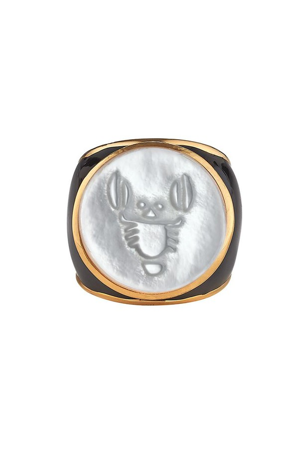Asha by Ashley McCormick Zodiac Ring Iv/Mop uM9bY
