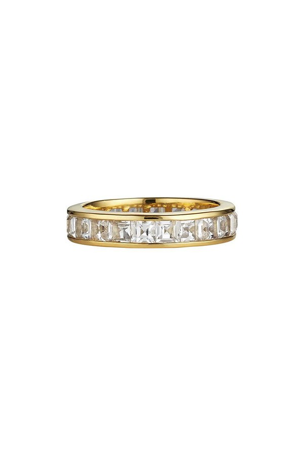 Asha by Ashley McCormick Byzantine Stacking Ring-P 0AeK1B6