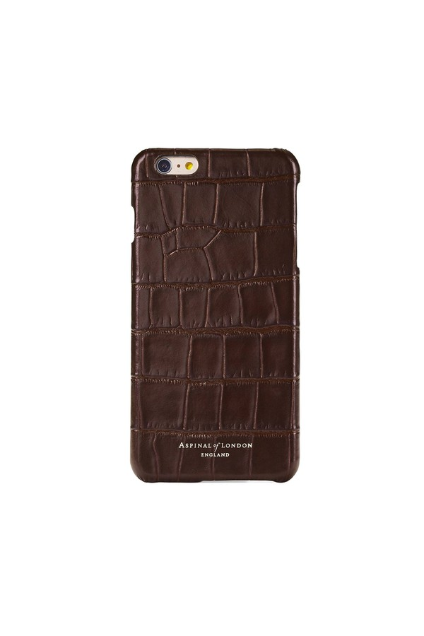 best service 26e5d 85d2f Iphone 6 Plus Leather Cover by Aspinal of London