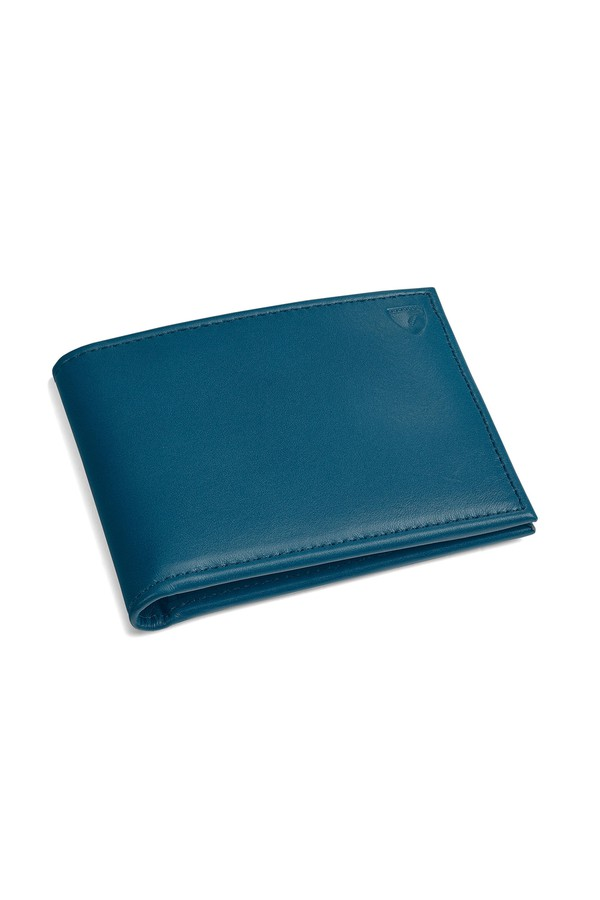 Billfold Wallet In Smooth Topaz by Aspinal of London