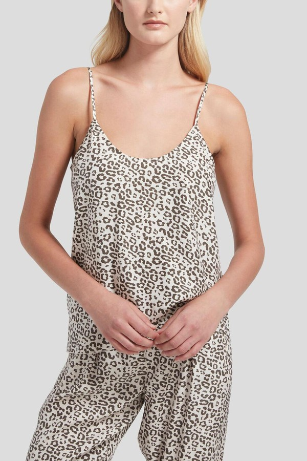 69445d0f857615 Lunar Leopard Silk Charmeuse Cami by ATM Anthony Thomas Melillo at...