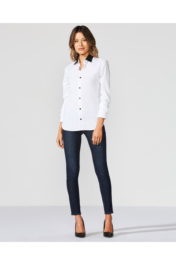 aea0f32bf6d Keaton Contrast Trim Shirt by Bailey 44 at ORCHARD MILE