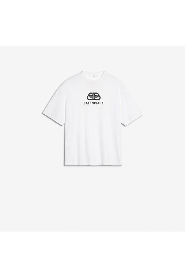 61dab0211320 Oversized Bb Balenciaga T-Shirt by Balenciaga at ORCHARD MILE