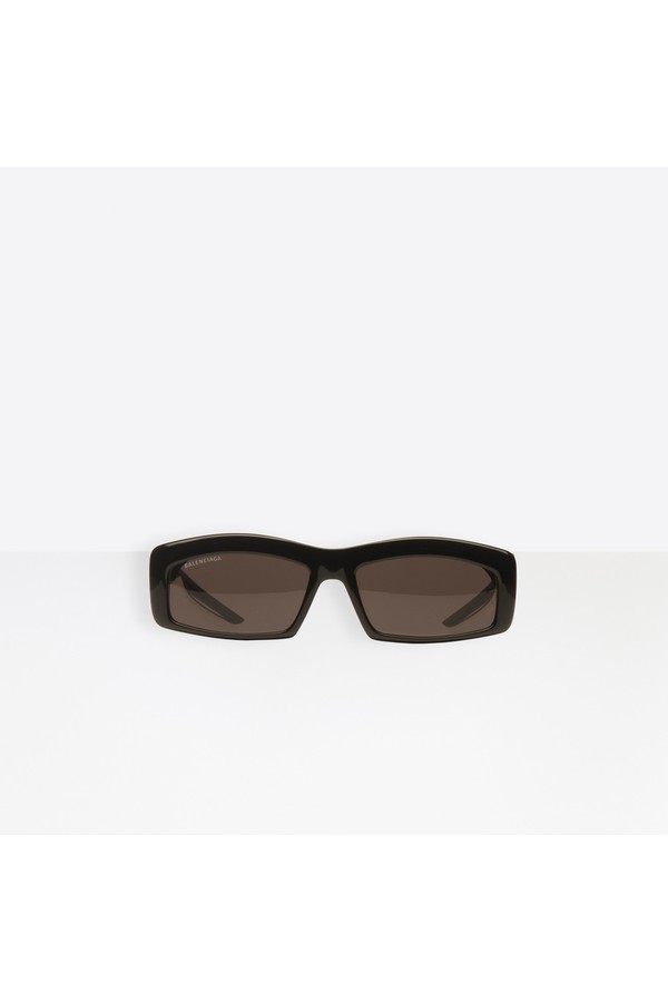 Balenciaga Hybrid Rectangle Sunglasses