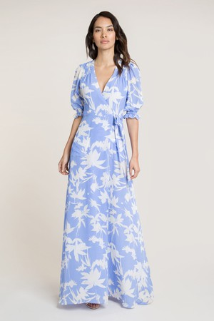 848e8c40f1a Reva Floral Midi Tunic Dress by Beulah London at ORCHARD MILE