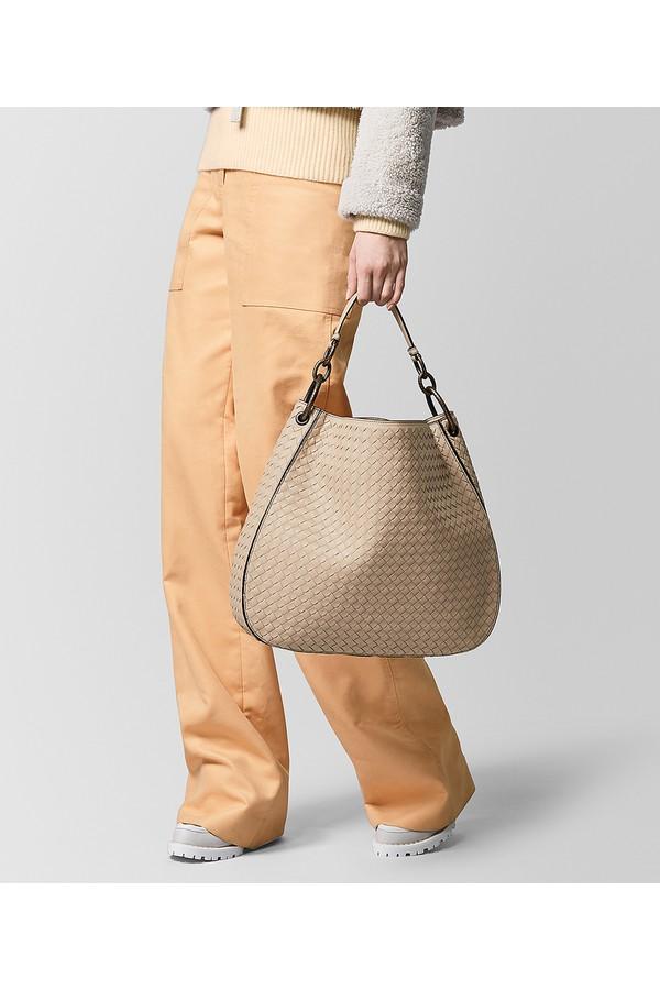 54dabfb79e Medium Loop Bag In Intrecciato Nappa by Bottega Veneta