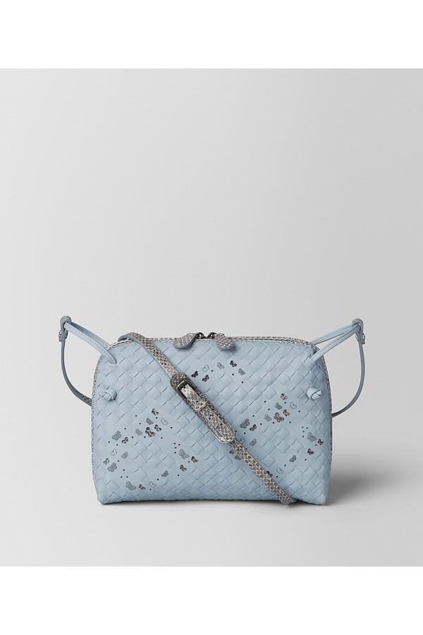 f261cdc688ce Arctic Intrecciato Nappa Ayers Nodini Bag by Bottega Veneta at...